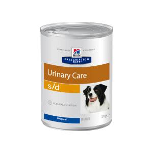 Влажный диетический корм для собак Hill's Prescription Diet s/d Urinary Care при профилактике мочекаменной болезни (мкб), 0.37кг