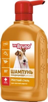 Шампунь М.Бруно для собак жесткий стиль, 0.350л