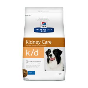 Сухой диетический корм для собак Hill's Prescription Diet k/d Kidney Care при профилактике заболеваний почек, 2 кг