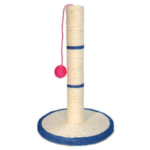 Триол сизалевая когтеточка Столбик с шариком №2