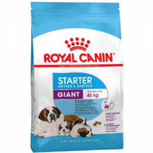 Royal Canin GIANT STARTER 4кг, Корм для щенков до 2-х месяцев, беременных и кормящих сук