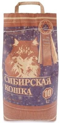 Наполнитель Сибирская Кошка Супер комкующийся, 10кг