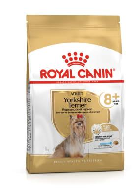 Сухой корм для взрослых собак  Royal Canin Yorkshire Terrier 8+, 0.5кг