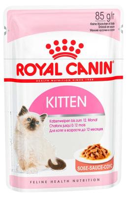Royal Canin KITTEN INSTINCTIVE (В СОУСЕ) 0.085кг, Влажный корм для котят от 4 до 12 месяцев