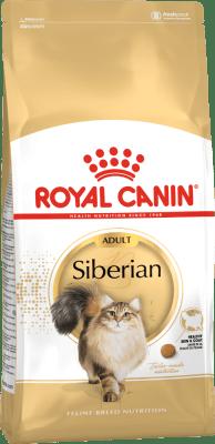 Royal Canin SIBERIAN ADULT 0.4кг, Сухой корм специально для взрослых сибирских кошек старше 12 месяцев