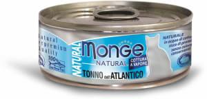 Monge Cat Natural консервы для кошек атлантический тунец 80г