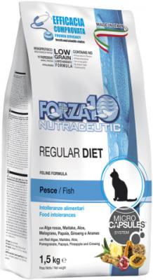 Корм для кошек Forza10 Regular Diet Pesce со вкуом рыбы, 1.5кг