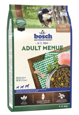 Корм Bosch Adult Menue для собак, 15кг