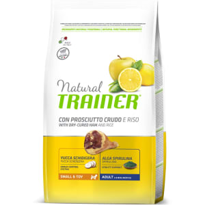 Trainer Natural Small & Toy with dry-cured ham and rice сухой корм для собак, 0.8кг