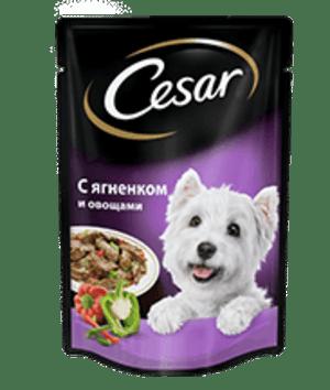 Cesar ягненок с овощами