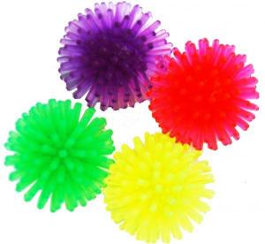 Игрушка для кошек № 1 Мяч шуршик 3 см ИУ70