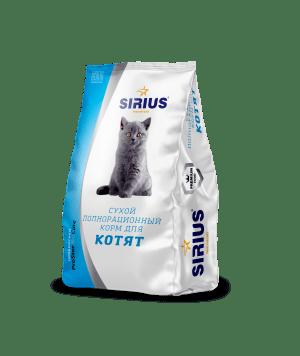 Корм для котят SIRIUS, 0.4 кг