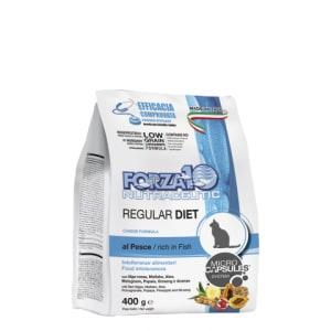 Корм для кошек Forza10 Regular Diet Pesce со вкуом рыбы, 0.4кг