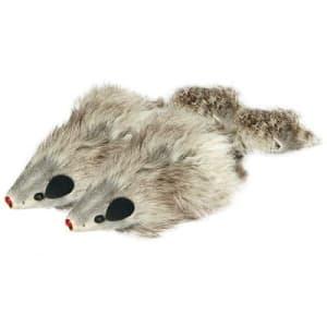 Игрушка для кошек мышь-погремушка №4