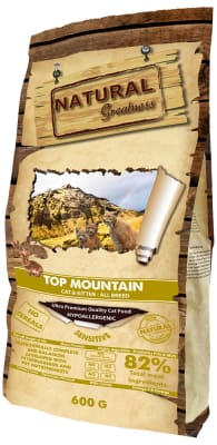Natural Greatness Top Mountain Recipe сухой корм для кошек, 0.6кг