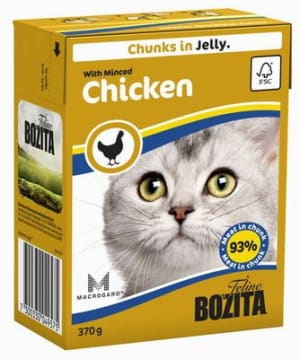 Bozita консерва для кошек со вкусом курицы, 0.37кг