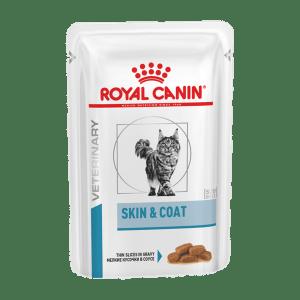 Влажный корм для кошек Royal Canin Skin & Coat Feline при чувствительной коже, 0.085 кг