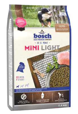 Корм Bosch Mini Light для собак, 2.5кг