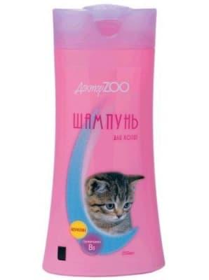 Шампунь Доктор ЗОО для котят с кератином, 0.250л