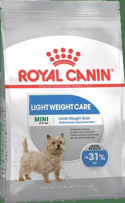 Royal Canin MINI LIGHT WEIGHT CARE 3кг, Корм для собак, предрасположенных к избыточному весу