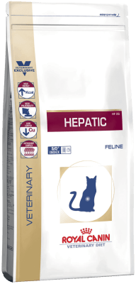 Royal Canin HEPATIC 0.5кг, Диета для кошек при болезнях печени