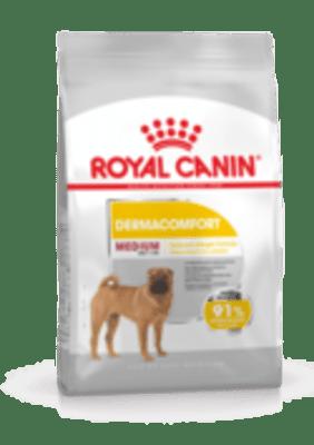 Сухой корм для собак Royal Canin Medium Dermacomfort с чувствительной кожей, 3кг