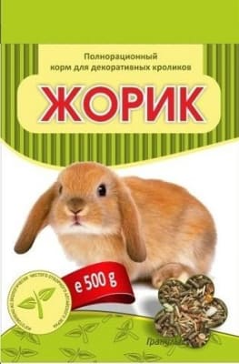 Жорик корм для кроликов, 0.5кг