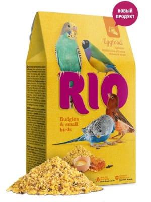 Корм для попугаев Рио яичный для волнистых попугаев и других мелких птиц, 0.25кг