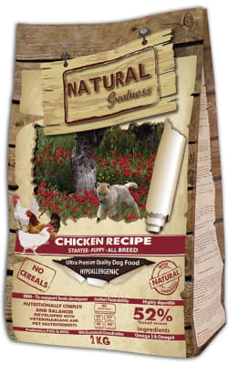 Natural Greatness Chicken Recipe Starter Puppy Junior сухой корм для собак, 2кг