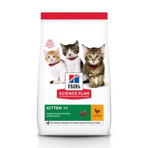 Сухой корм Hill's Science Plan для котят для здорового роста и развития с курицей, 3 кг