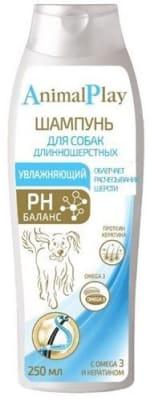 Шампунь Энимал Плэй для длинношерстных собак увлажняющий, 0.250л