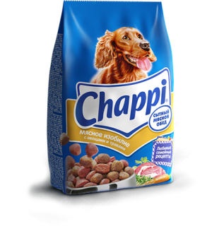 Корм для собак Chappi со вкусом мясного изобилия с овощами, 15кг