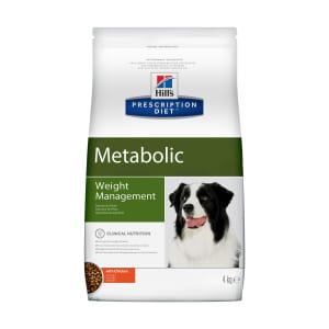 Сухой диетический корм для собак Hill's Prescription Diet Metabolic способствует снижению и контролю веса с курицей, 4кг