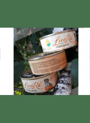 LiveRA, консервы для кошек, 0.1кг