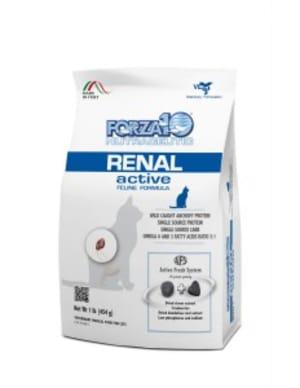 Корм для кошек Forza10 Renal Active со вкуом рыбы, 0.45кг