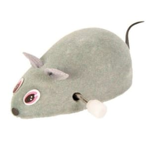 Игрушка для кошек заводная мышь