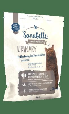 Кошачий корм Sanabelle Urinary для кошек с проблемами мочевыделительной системы, 10кг
