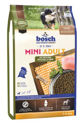 Bosch Mini Adult птица и просо, 1кг