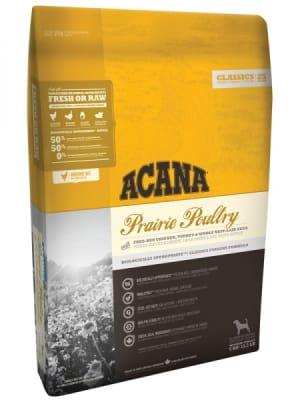 Acana для собак и щенков Prairie Poultry со вкусом цыпленка и индейки, 17кг