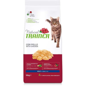 Сухой корм для кошек Trainer со вкусом курицы, 1.5кг