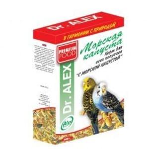 Корм для попугаев Доктор Алекс Морская капуста, 0.5 кг