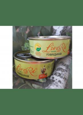 LiveRA, консервы для собак, 0.1кг