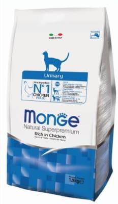 Monge Cat Urinary корм для кошек профилактика МКБ 1,5 кг