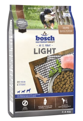 Корм Bosch Light для собак, 1кг