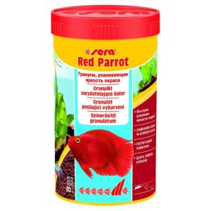 Корм для рыб SERA Red Parrot вида красный попугай, 0.25л