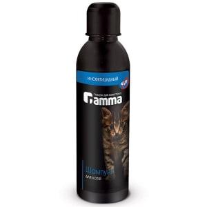 Шампунь ГАММА для кошек и котят от блох, 0.250л
