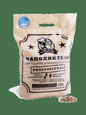 Растительно-минеральный наполнитель Чистые пушистые с ароматом ванили, 5кг