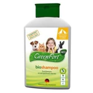 Шампунь GreenFort БИО для кошек, собак и кроликов, 0.38кг
