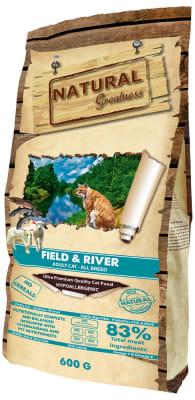Natural Greatness Field & River Adult Cat сухой корм для кошек, 0.6кг