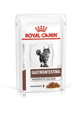 Влажный корм для кошек  Royal Canin Gastrointestinal Moderate Calorie в соусе, 0.085кг